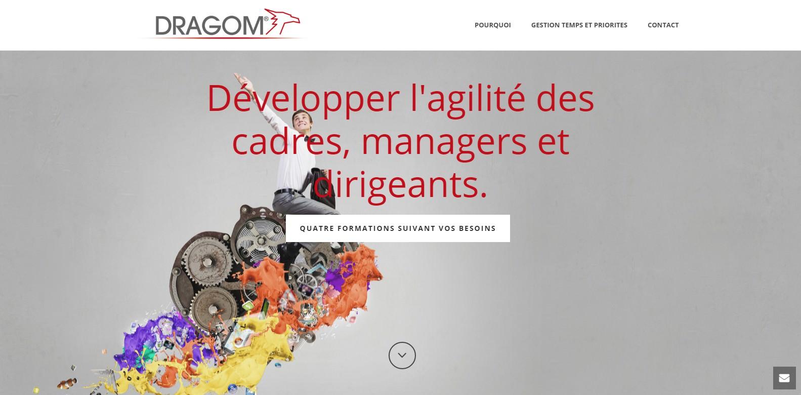 Site DRAGOM pour la Gestion du Temps et des Priorités des managers