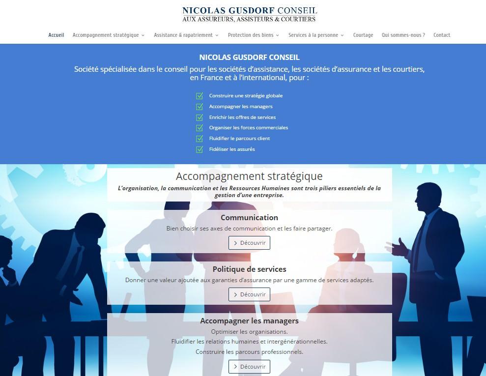 Site Nicolas GUSDORF CONSEIL