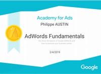 Google Academy Adwords Fundamentals