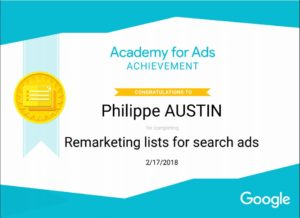 Adwords Academy Remarketing lists Search Ads
